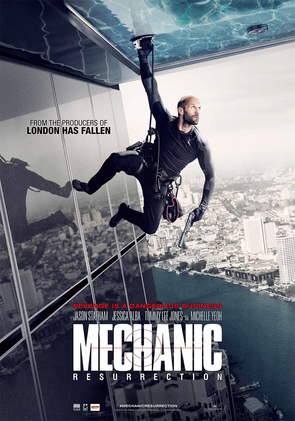 Poster The Mechanic - NL_LR